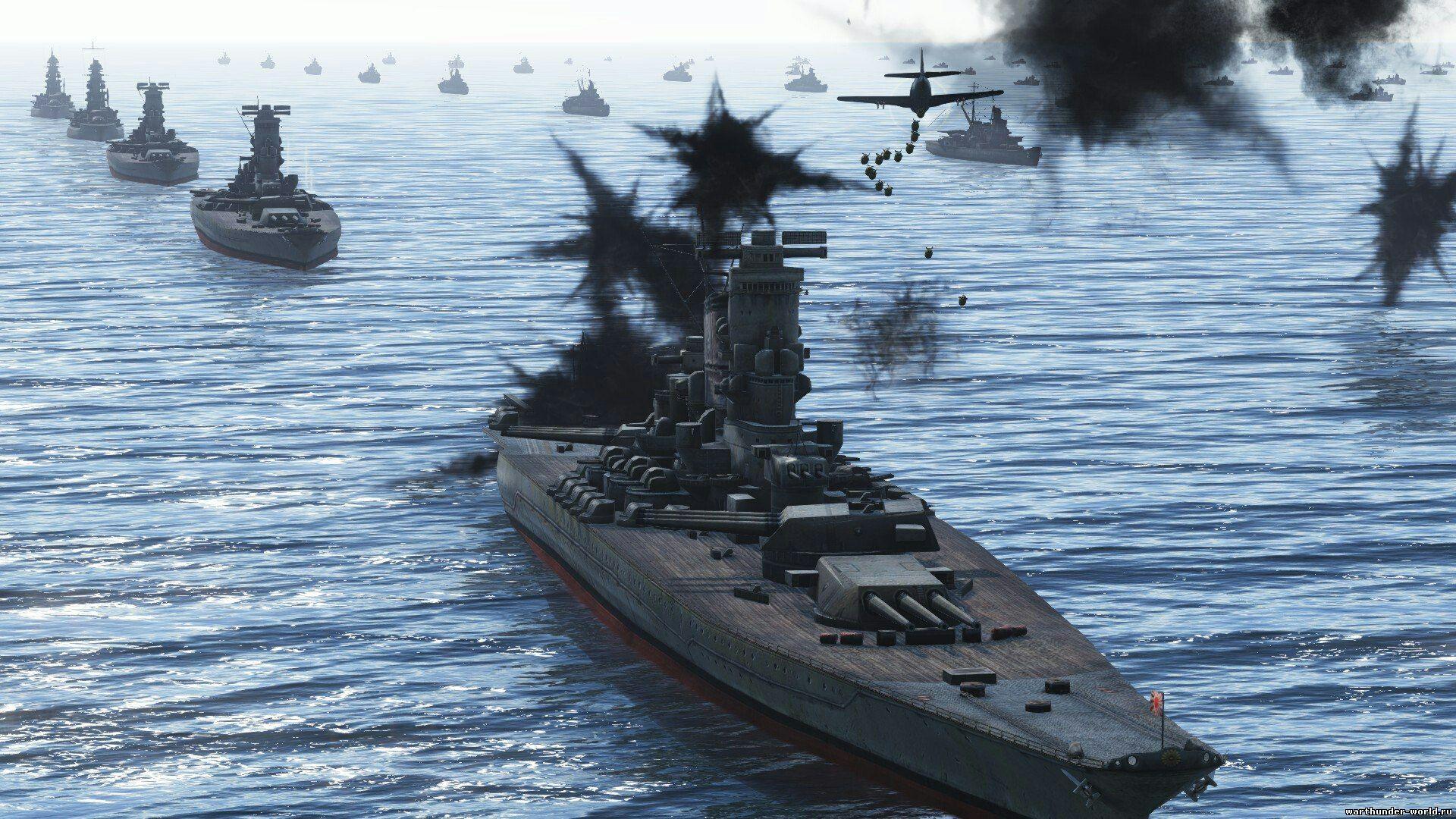 когда будет флот в war thunder